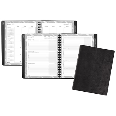 2018 Day-Timer Weekly/Monthly Appointment Book/Planner, 6-7/8 x 8-3/4 (35105-1801)