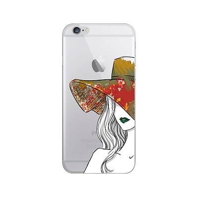 OTM® Iphone 7/6/6S Phone Case; Lovely Lady Green