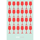 East Urban Home Wine Lover III Graphic Art Print on Canvas; 12 H x 8 W x 0.75 D
