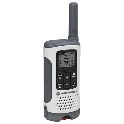 Motorola 25 mile Talkabout T260 2 way Radios Triple Pack