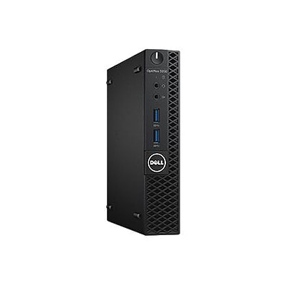 Dell™ OptiPlex JG20P 3050 Micro Business Desktop PC, Intel Core i5-7500T, 500GB HDD, 4GB RAM, WIN 10 Pro, Intel HD Graphic 630