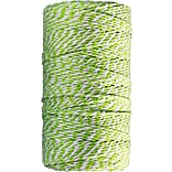 JAM Paper® Green & White Bakers Twine Ribbon, 109 yd., Sold Individually (349532756)