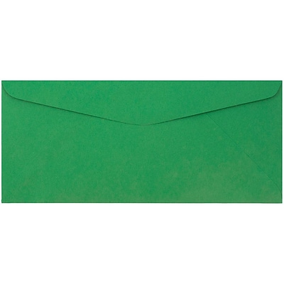 JAM Paper® #9 Envelopes, 3 7/8 x 8 7/8, Green Recycled, 500/pack (1532896c)