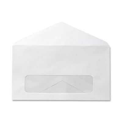 Quill Brand® Standard Business Single Window Envelopes; #6-3/4, 500/Box