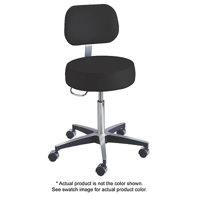 Brewer 11001 Century Series Gas Lift Stool with Backrest, Saddle (11001BV-PR52)