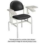 Brewer Blood Drawing Chair, Deep Saphire
