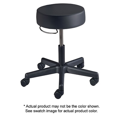 Brewer Value Plus Series Gas Lift Stool with No Back, Seamelss, Alabaster