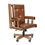 Loon Peak Abella Bankers Chair; Stained and Lacquered
