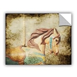 Winston Porter Route Vintage Carousel III Wall Mural; 8 H x 10 W x 0.1 D