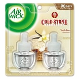 Air Wick®; Scented Oil Warmer Refill; Cold Stone Creamery, Vanilla Bean, 2/Pack
