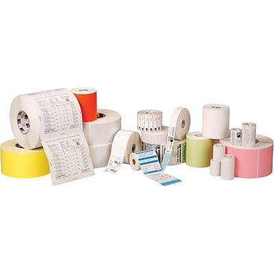 Zebra Z-Perform 2000D Thermal Transfer Label, 4 x 6, White, 430 Labels/Roll, 6 Rolls/Box (10010034)