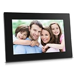 Sungale 10 Smart Wi-Fi Cloud  Digital Photo Frame with High Resolution IPS Touch Screen (CPF1051)