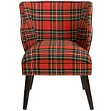 Darby Home Co Tobar Barrel Chair; Line Lattice Teal OGA