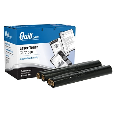 Quill Brand Remanufactured Sharp UX-3CR Black Standard  Cartridge 2/Pack (UX3CR) (100% Satisfaction Guaranteed)