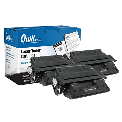 Quill Brand® Remanufactured HP 27X Black High Yield Laser Toner Cartridge 3/Pack (C4127X) (Lifetime Warranty)