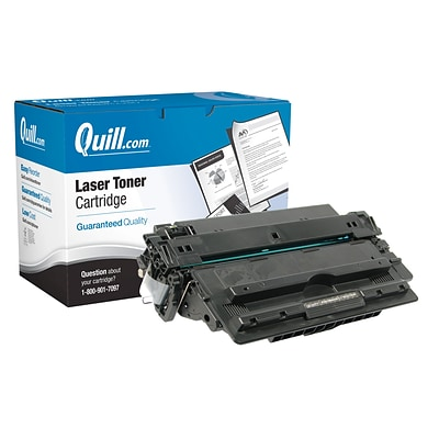 Quill Brand Remanufactured HP 16A Black Standard Laser Toner Cartridge  (Q7516A) (100% Satisfaction Guaranteed)