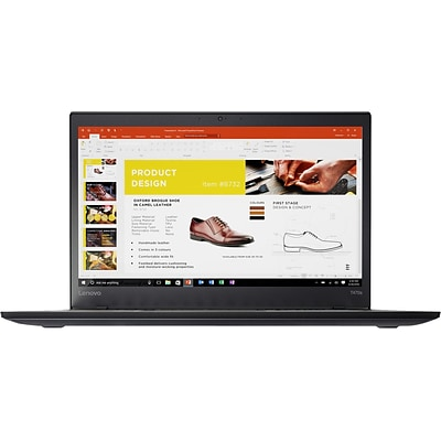 Lenovo ThinkPad T470s 20JS0014US 14 LCD Notebook, Intel Core i5 i5-6300U Dual-core 2.40GHZ, 4GB DDR4 SDRAM, 128GB SSD