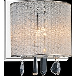 CrystalWorld 1-Light LED Wall Sconce