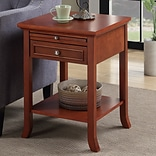 Winston Porter Lucile End Table; Cherry