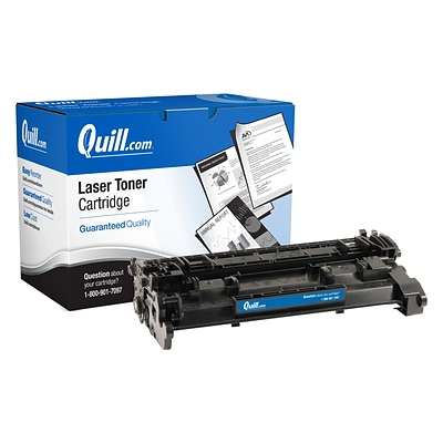 Quill Brand® HP 26 Remanufactured Black Laser Toner Cartridge, Standard Yield (CF226A) (Lifetime Warranty)