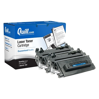 Quill Brand Remanufactured HP 90A Black Standard Laser Toner Cartridge 2/Pack (CE390A) (100% Satisfaction Guaranteed)