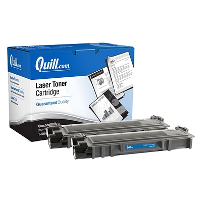 Quill Brand® Remanufactured Brother TN660 Black High Yield Toner Cartridge, 2 pack (Lifetime Warranty)