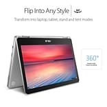ASUS Chromebook Flip C302CA-DHM4 12.5-Inch Touchscreen Intel Core m3 64GB storage, 4GB RAM