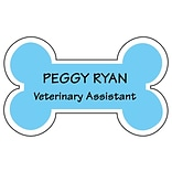 Medical Arts Press® Designer Name Badges; Die-Cut, Dog Bone