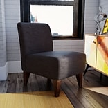 Varick Gallery Proctor Slipper Chair; Charcoal