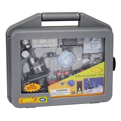 Elenco Electronics® Microscope Set In Carrying Case