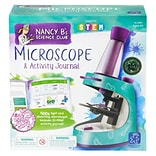 Educational Insights Nancy Bs Science Club Microscope And Activity Journal, Grades 2-7