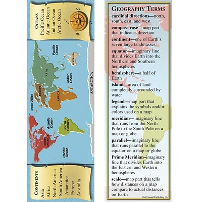 McDonald Publishing Smart Bookmarks, Geography