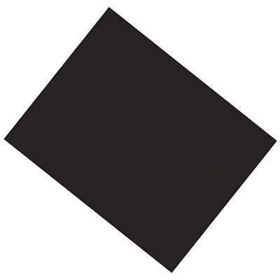 Pacon® Poster Board, 22 x 28, Black, 25/Pack