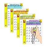 Timed Math Drills: Set of 4
