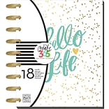 Create 365 18-Month Planner 7.75X9.75-Hello Life