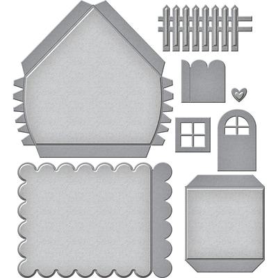 Spellbinders Shapeabilities Dies By Sharyn Sowell-Build A House