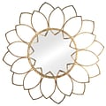 Willa Arlo Interiors Traditional Round Wall Mirror