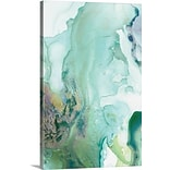Varick Gallery Mint Bubbles III Painting Print on Canvas; 12 H x 8 W x 1.5 D