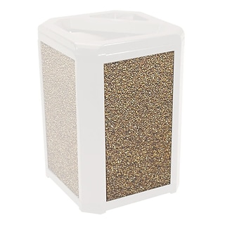 Rubbermaid Rock Dome-Top Trash Container