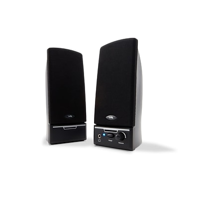 Cyber Acoustics CA-2012 Amplified Computer Speaker System; Black