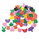 Roylco Animal Face Buttons Craft Accessories
