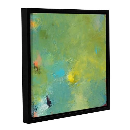 Brayden Studio 'Circus' Framed Painting Print; 14'' H x 14'' W x 2'' D