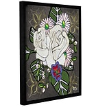 Bloomsbury Market Botanical III Framed Painting Print on Wrapped Canvas; 10 H x 8 W x 2 D
