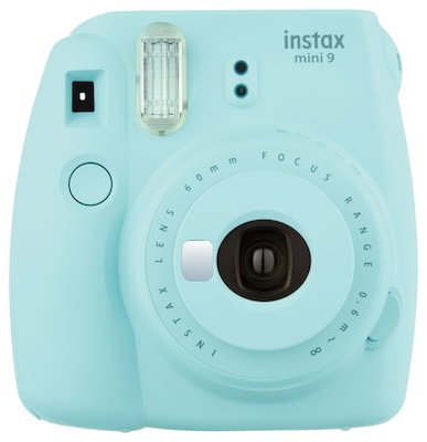 Instax Mini 9 Instant Camera, Ice Blue (16550643)