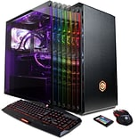 CyberpowerPC Gamer Supreme Liquid Cool SLC9980 Gaming Desktop (Intel i7-7820X, 2TB HDD+240GB SSD, Wi