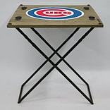 Evergreen Enterprises, Inc 19.9 Rectangular Folding Table; Chicago Cubs