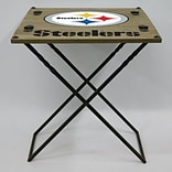Evergreen Enterprises, Inc 19.9 Rectangular Folding Table; Pittsburgh Steelers