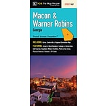 Universal Map Macon/Warner Robins Georgia Fold Map