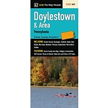 Universal Map Doylestown and Area Fold Map