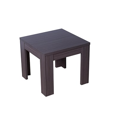 Boss® Laminate Collection in Driftwood Finish, 22 x 22  End Table